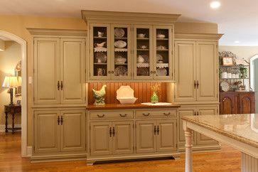 Room Built In Diningroom Cabinets
