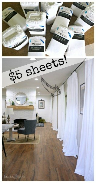 Photo of Cheap White Curtains – Quick, Cheap, & Super Easy – Sawdust 2 Stiches