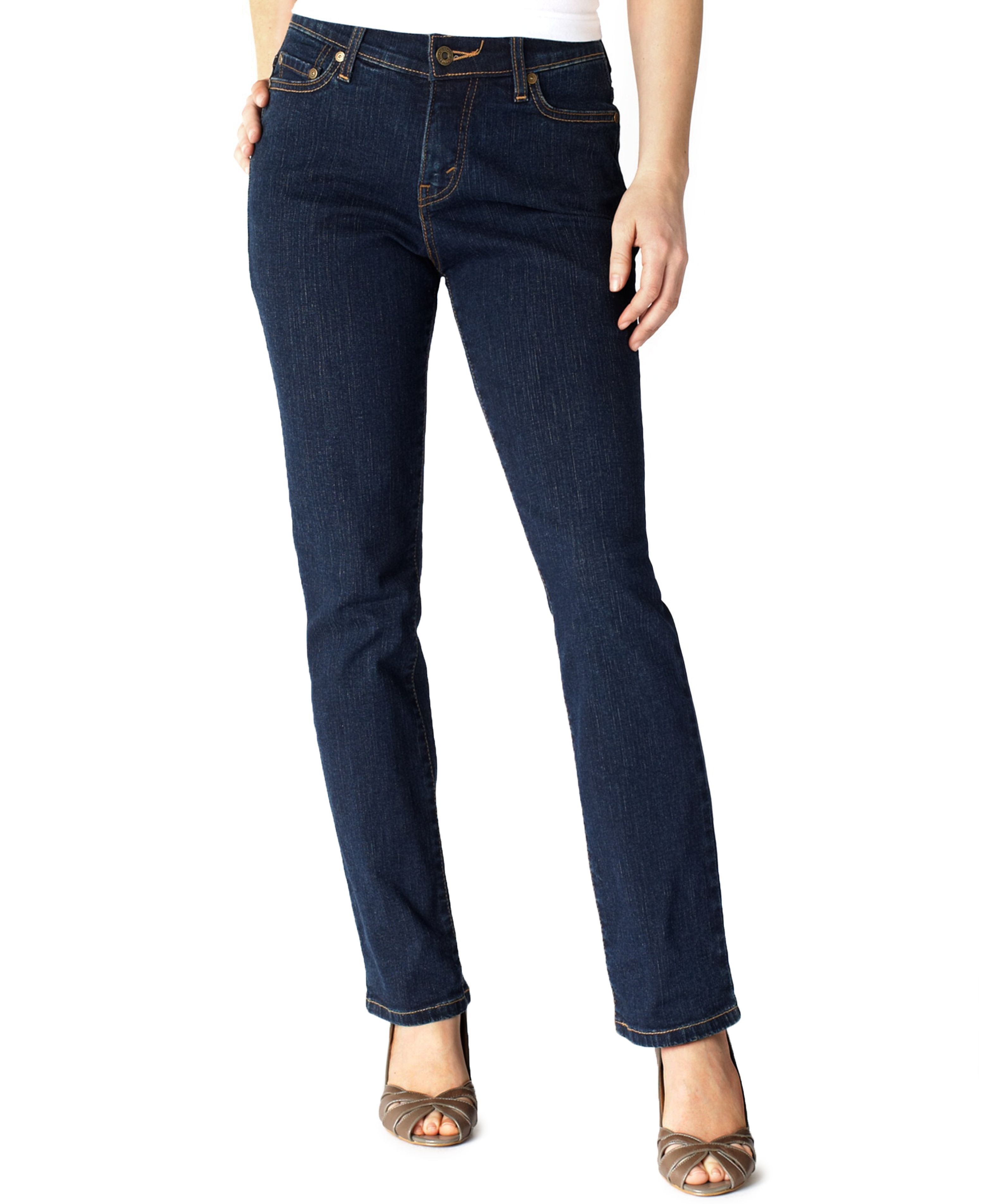 new high quality pre order professional design Levi's Petite 512 Perfectly Slimming Straight-Leg Jeans ...