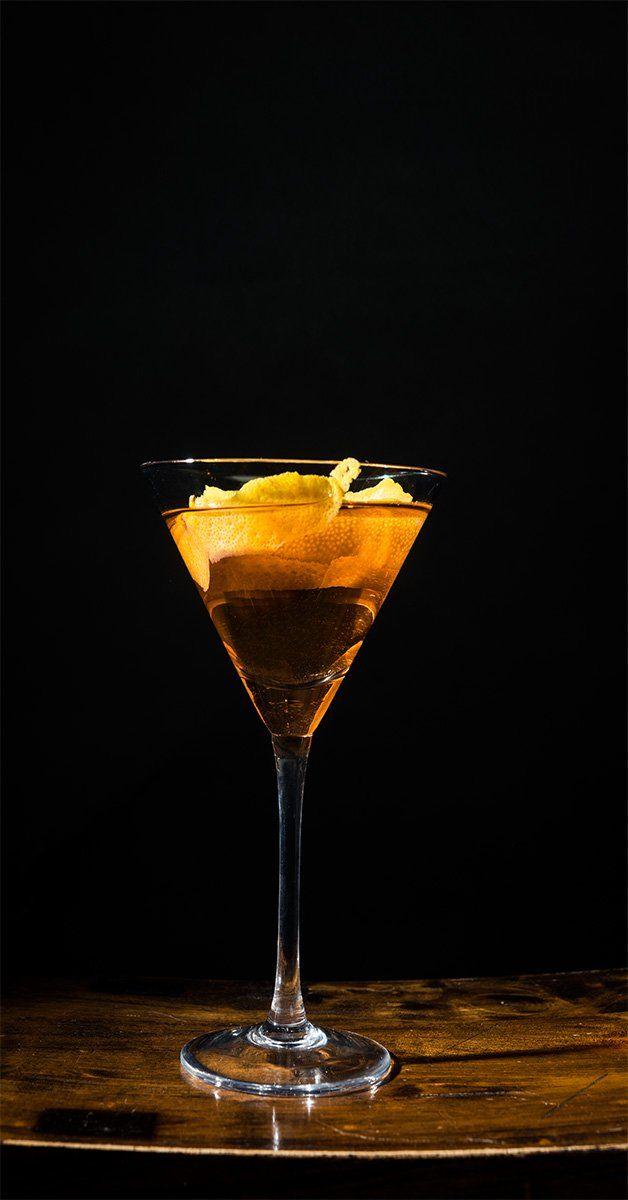 Vanilla Peach Martini