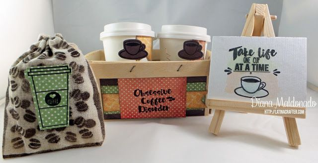 Crafter America - Stamps in Spanish: Fall Coffee Lovers Blog Hop!
