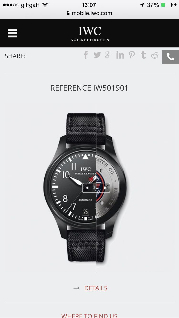 IWC Pilot Top gun edition... This is my favourite watch...but still unapproachable for me!