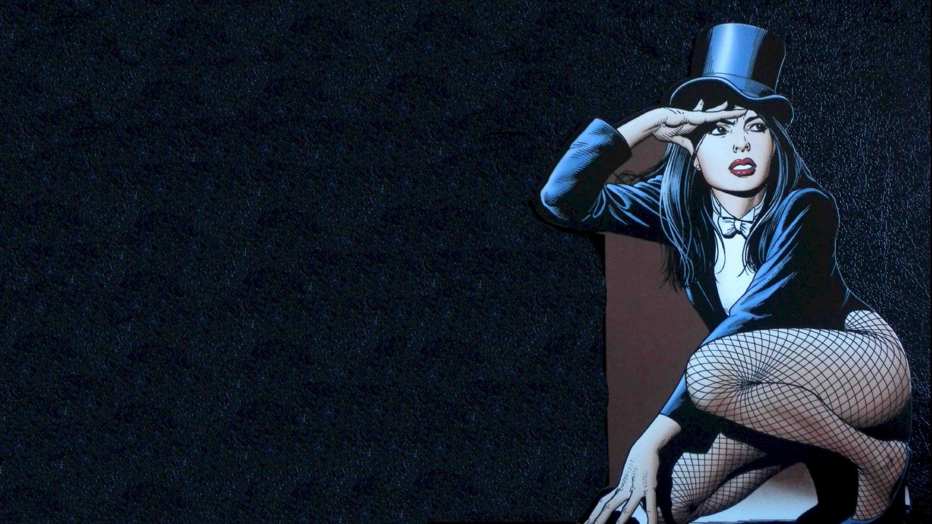 Zatanna Wallpaper Vilas Herois Personagens