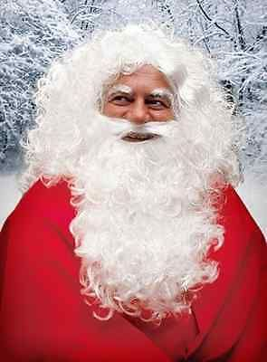 Fancy dress - costume - #santa claus full #beard with wig and #eyebrows,  View more on the LINK: http://www.zeppy.io/product/gb/2/262215361261/