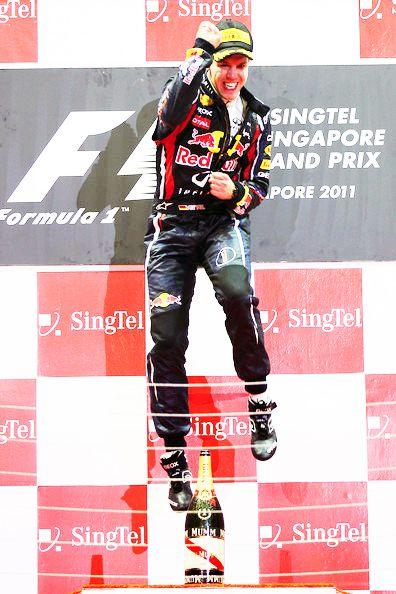 Here's another sporty Seb I like (Sebastian Vettel). Shame I don't particularly like Formula 1...