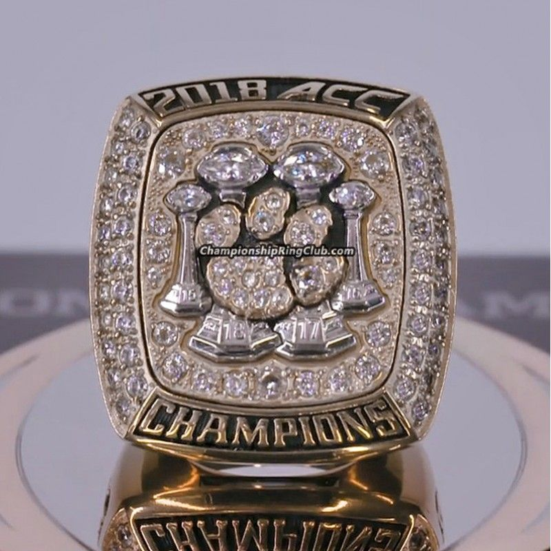 2018 clemson tigers acc championship ring www