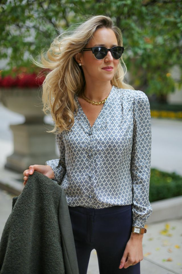 how to wear: blouse | The Classy Cubicle: October 2014 ...