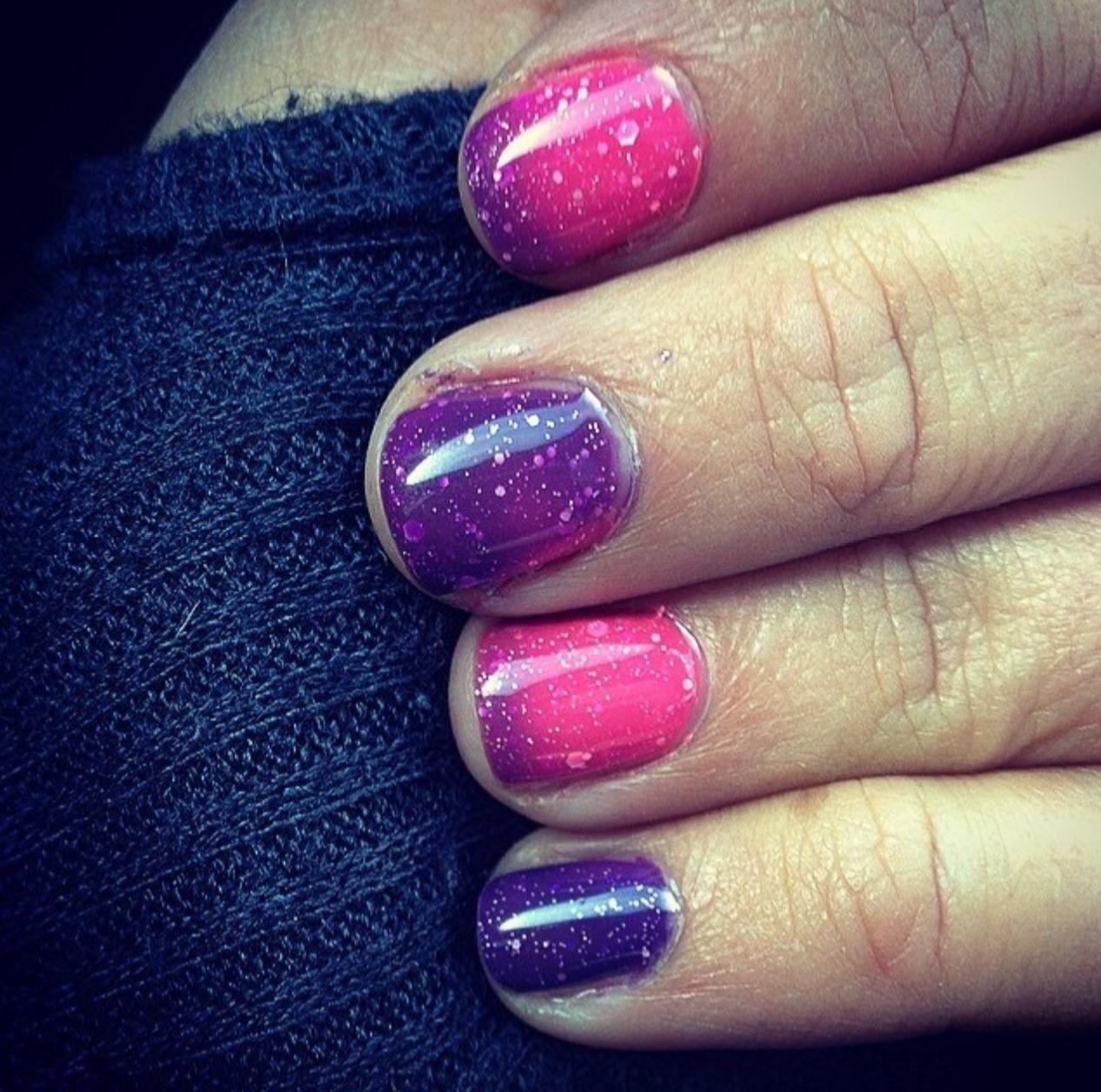 Winter nail art ideas best uv soak off gel shellac nail polish