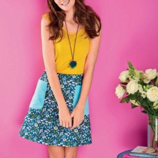 A-line Skirt - Free sewing patterns | Free pattern, Fabric sewing ...
