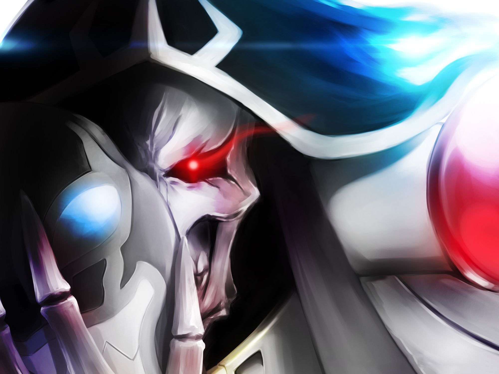 Anime Overlord Ainz Ooal Gown Overlord Wallpaper Hd