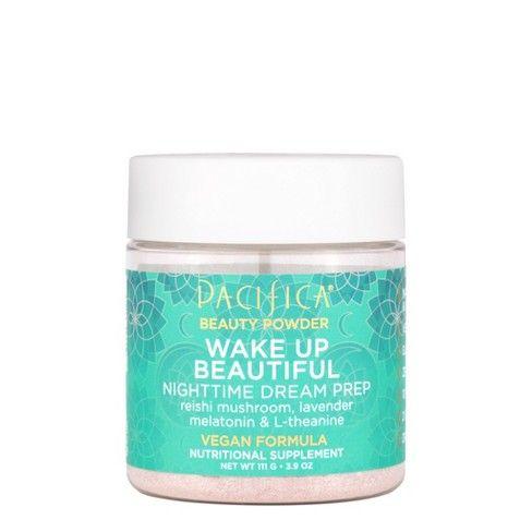 Pacifica Wake Up Beautiful Beauty Powder 3 9oz Nutrition Reishi Mushroom Beauty