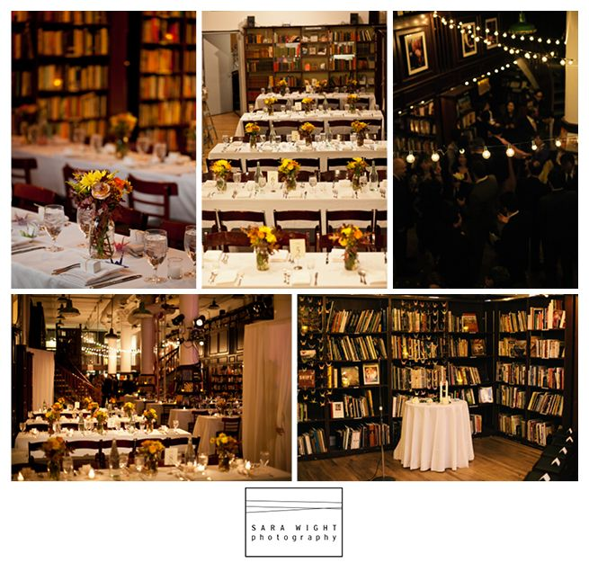 Housing Works Bookstore Cafe Wedding Venue, New York, NY | Sara Wight