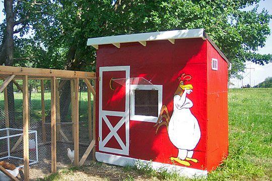 Creative Chicken Coop Ideas