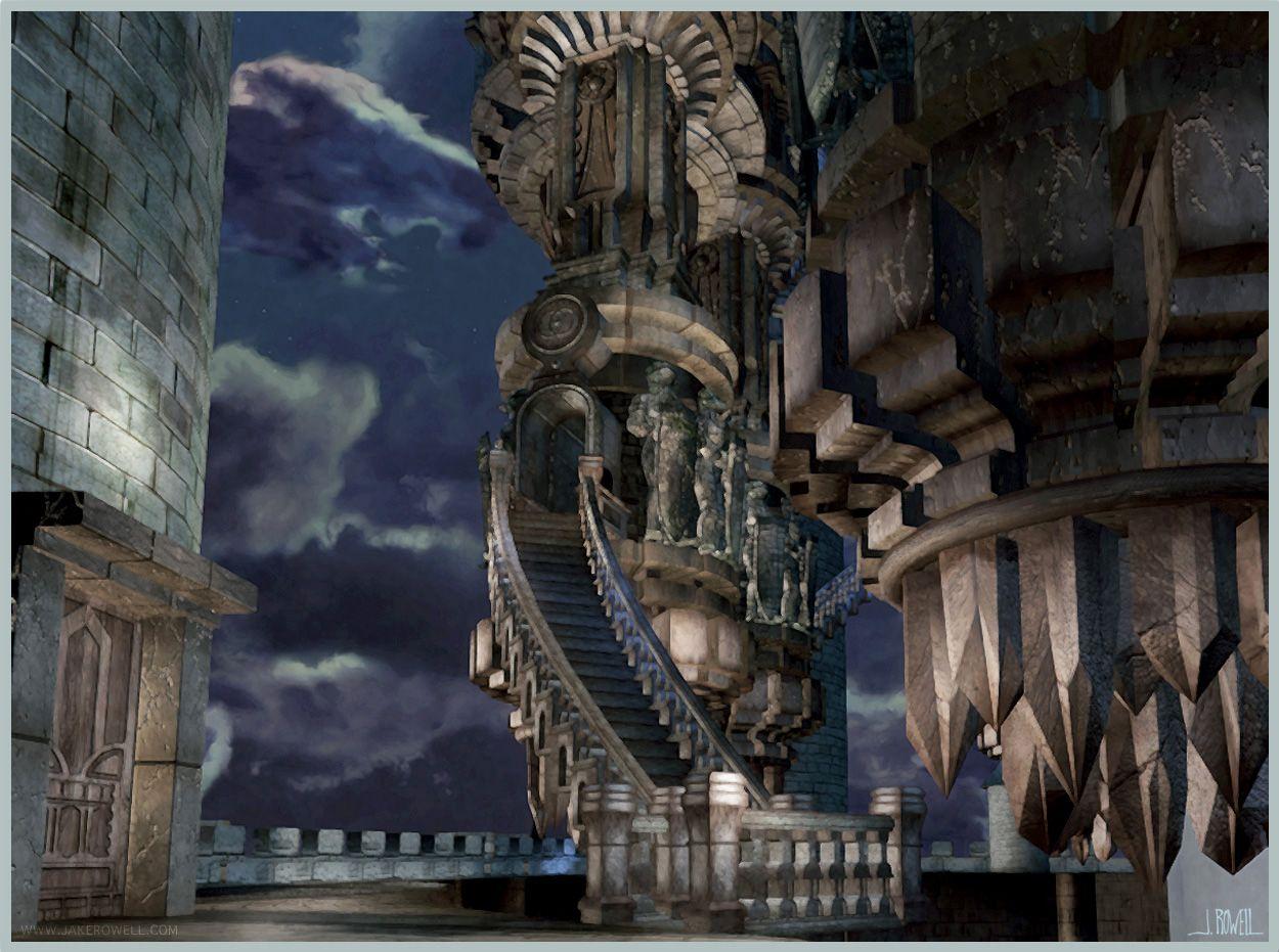 Final Fantasy Ix Jake L Rowell Artist Final Fantasy Ix Final Fantasy Fantasy