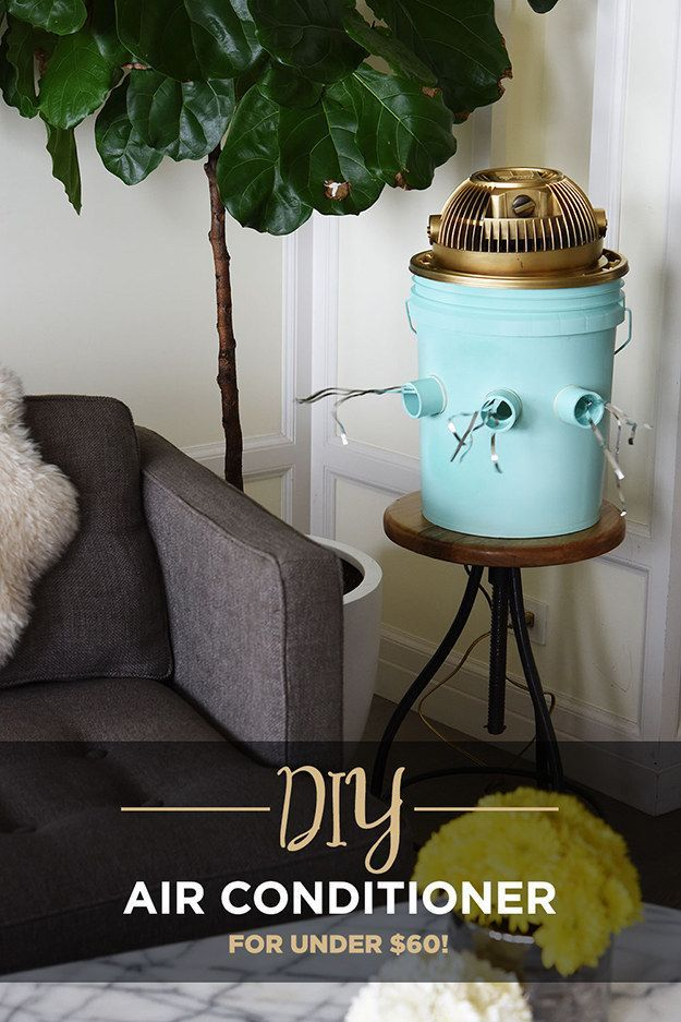 How To Make A DIY Air Conditioner That Will Actually Keep You Cool. Labor…