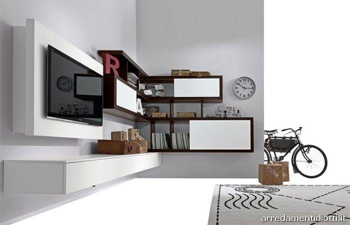 Гостиная уголок модульный приостановлено творческую сторону - DIOTTI & F Мебель