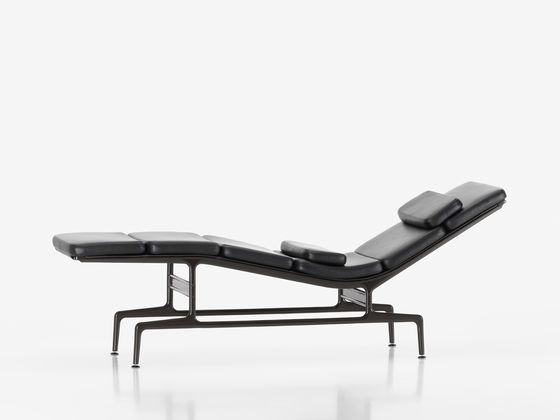 Vitra Products Soft Pad Chaise Eames Furniture Eames Chaise Eames