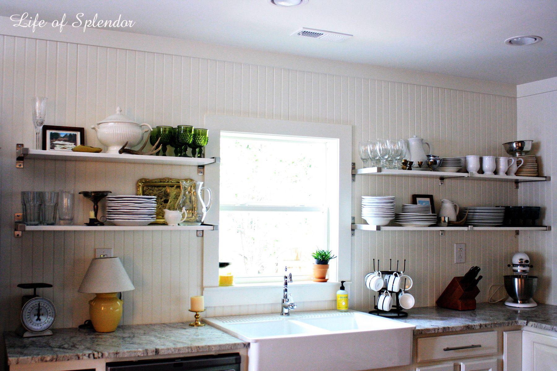 Modern Open Shelving Kitchen Ideas Chocoaddicts Beautiful Choose Best Kitchen Shelves Designs Design Ideas