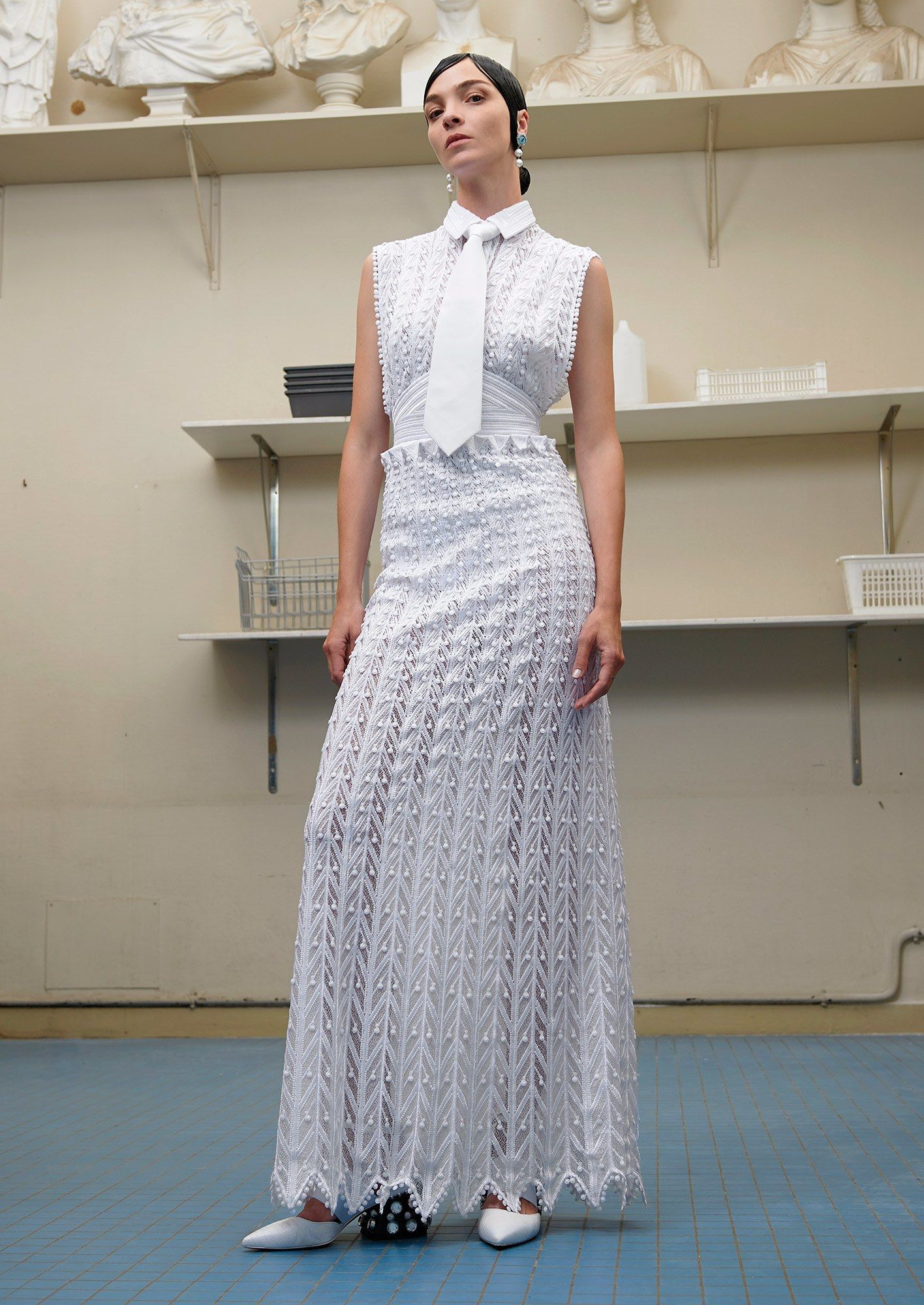 Givenchy Fall 2016 Couture Fashion Show - Mariacarla Boscono (Viva)