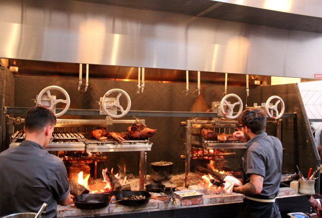 Oh Just The Most Anticipated Sf Opening Of Maybe The Year American Restaurant Bbq Restaurant Restaurant Kitchen