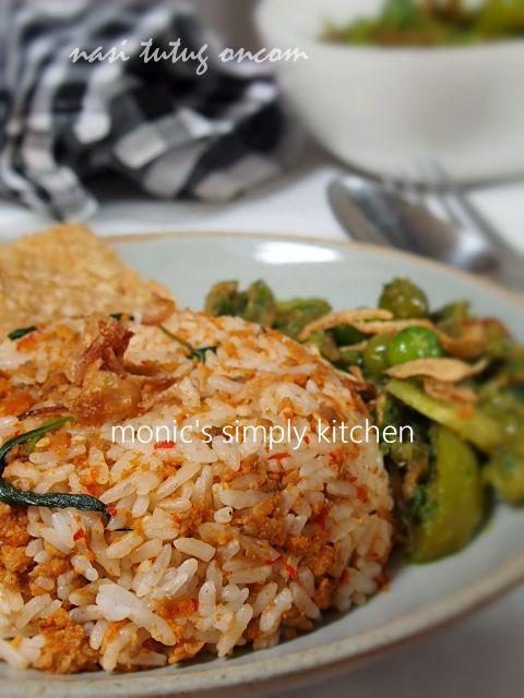 Nasi Tutug Oncom Sambal Leunca Resep Masakan Resep Resep Makanan