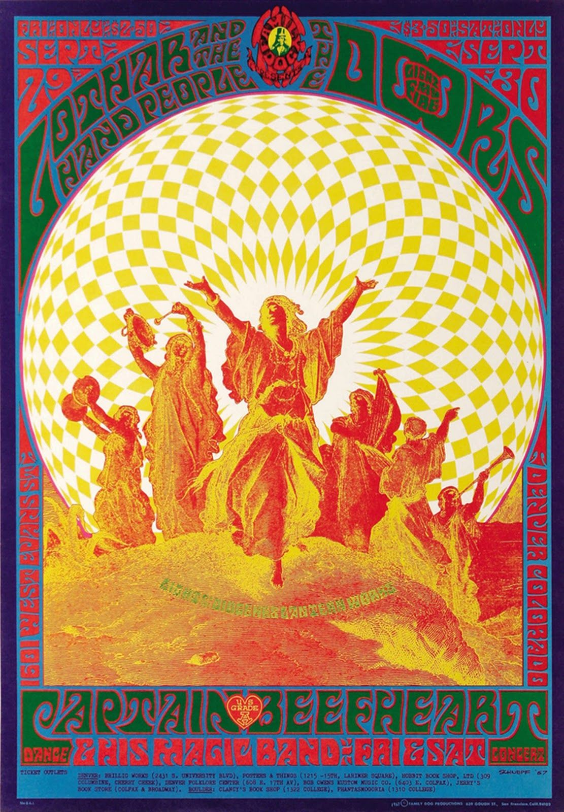 Here is a great little collection of trippy psychedelic rock posters