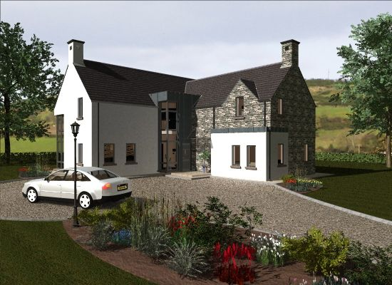 db90b533f7ee10a4f6a362f576921642 - 15+ Modern Two Storey House Plans Ireland Pictures