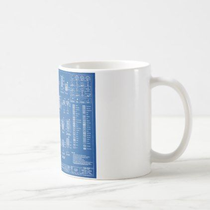 Cocktail blueprint coffee mug malvernweather Choice Image