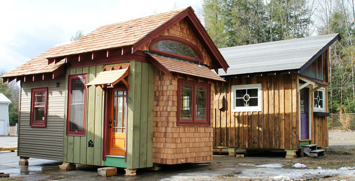 Makers Tiny House On Guemes Island Tiny Living Tiny House Tiny House Exterior Tiny Houses For Rent