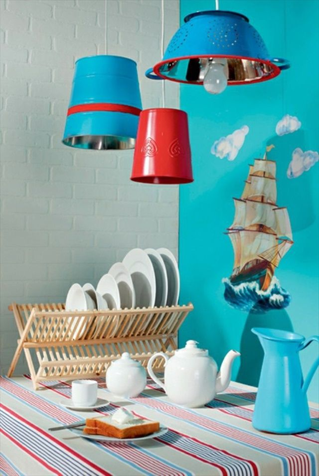 18 DIY Craft Ideas With Used Items | Hanging Lamps: