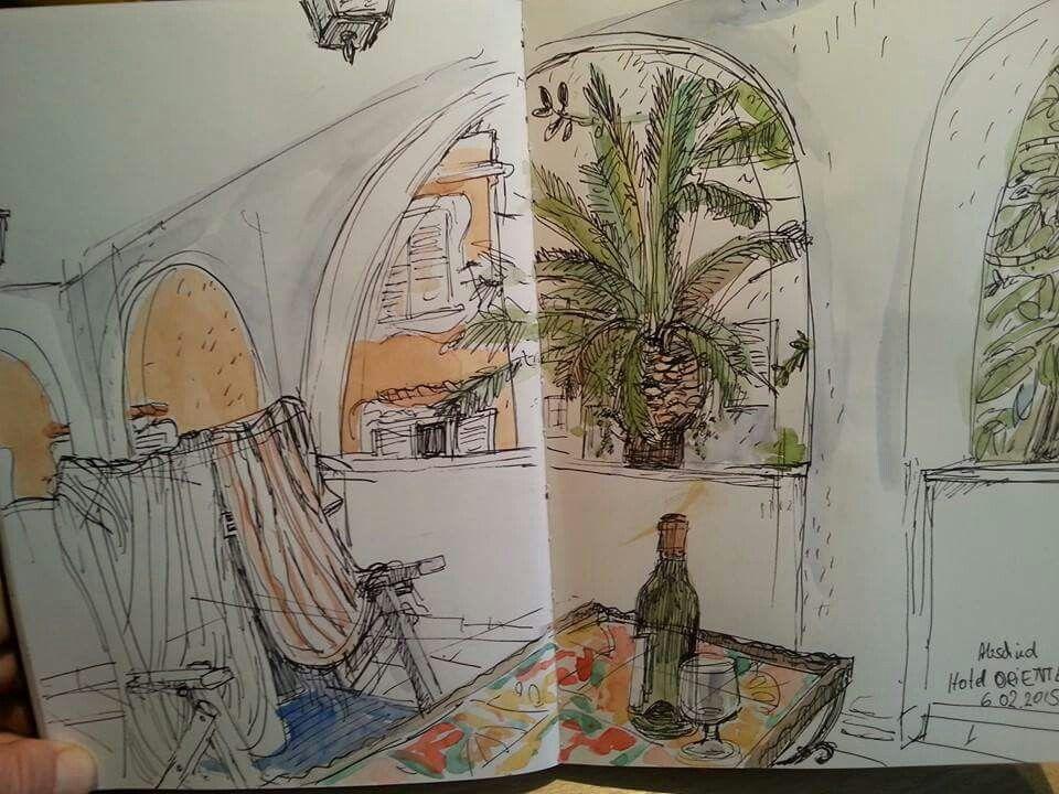 Krishan - blick von Terrasse