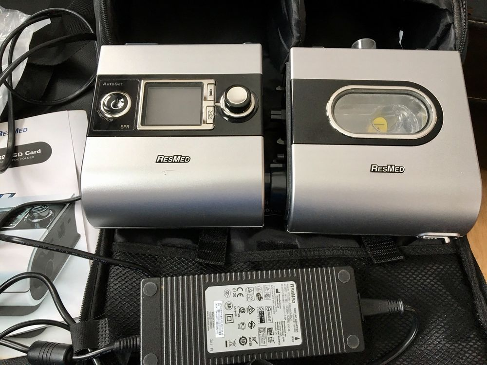ResMed S9 H5i CPAP and humidifier machine w/ SD card New