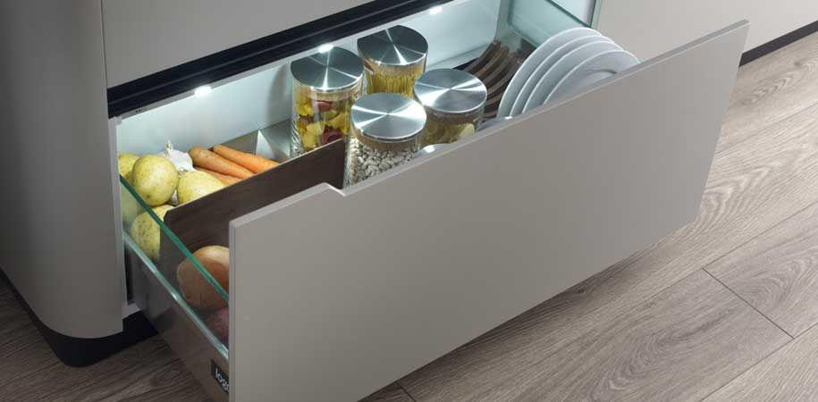 soluciones #almacenamiento en la #cocina: Cocina Logos Modelo XP ...