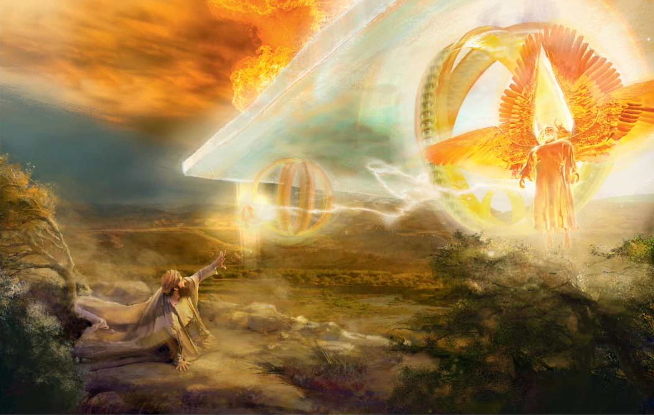 Pin By Gloria Hamlet On Jw Org: Celestial Chariot, Illustration From 2013