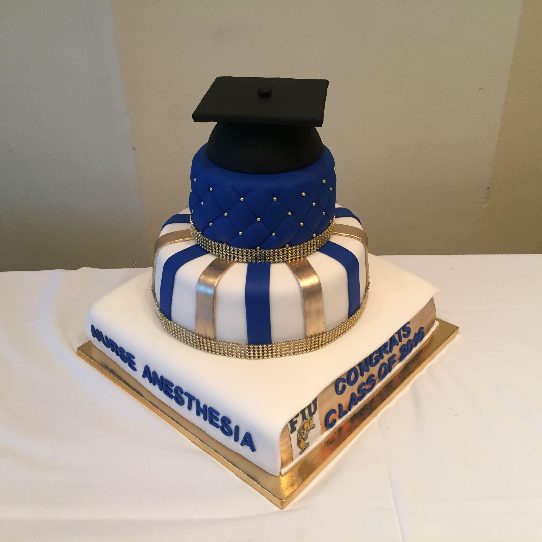 Fiu Graduation Cake Graduation Cakes Graduation Cake Designs Cake