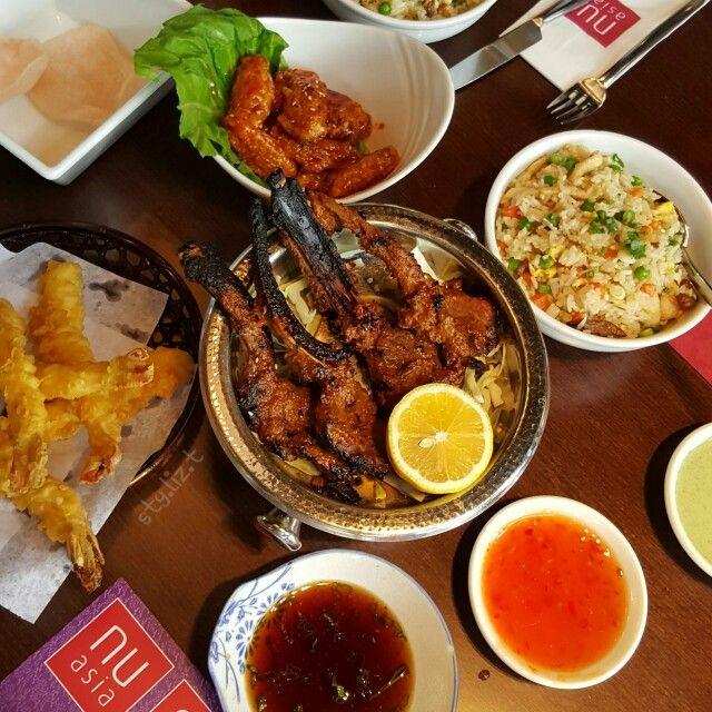 Lamb Chops Tempura Honey Chicken Nu Asia