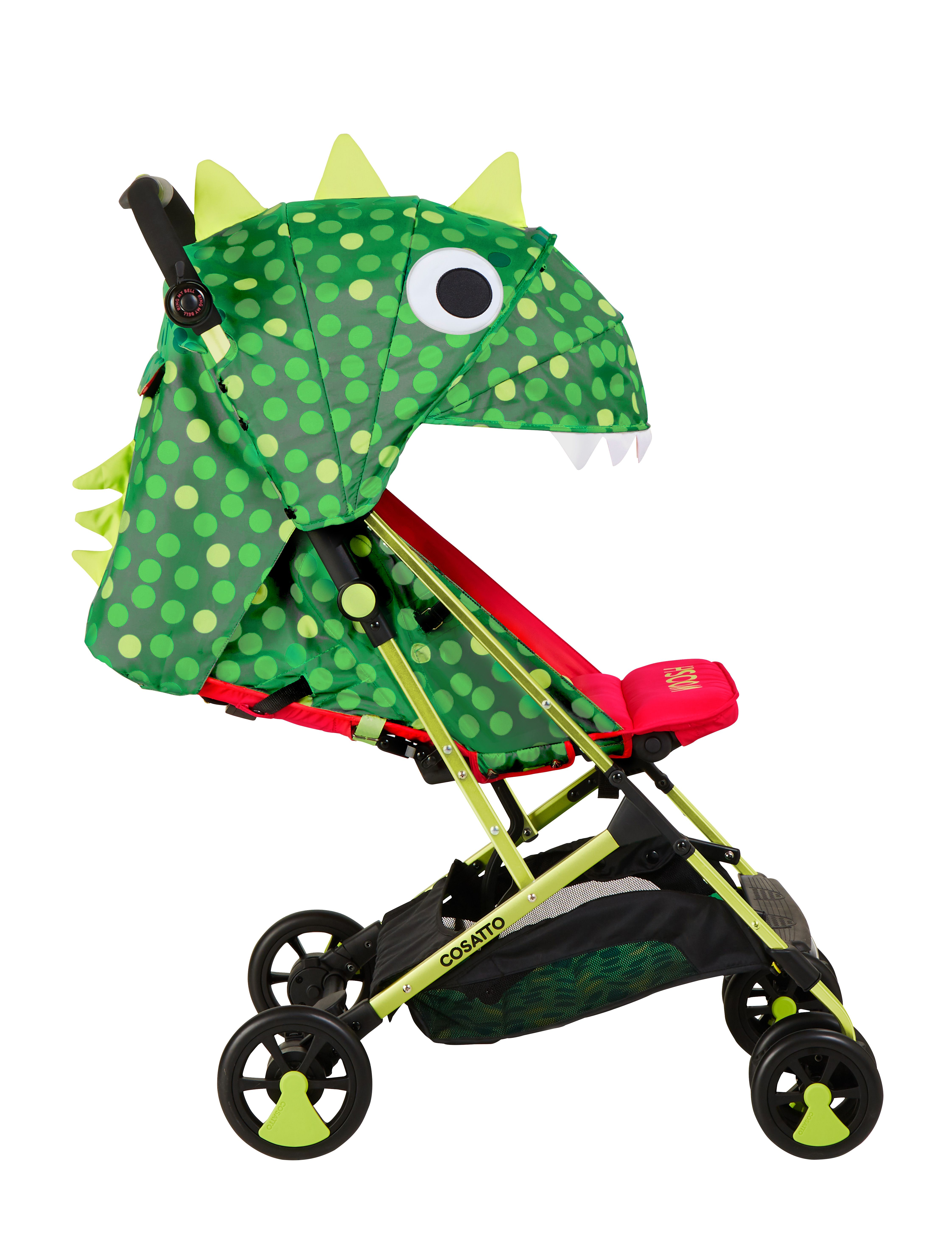 Suitable from Birth to 25 kg Cosatto Supa 2018 Baby Stroller Dino Mighty
