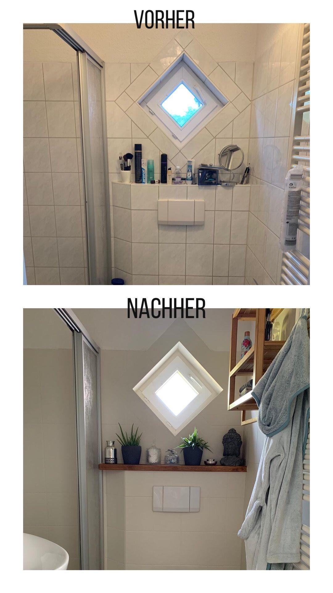 Badezimmer Fliesen Streichen Alte Badezimmer Fliesen Streichen Mit Kreidefarben Und Ein Badezimmer Fliesen Badezimmer Streichen Badezimmerfliesen Streichen