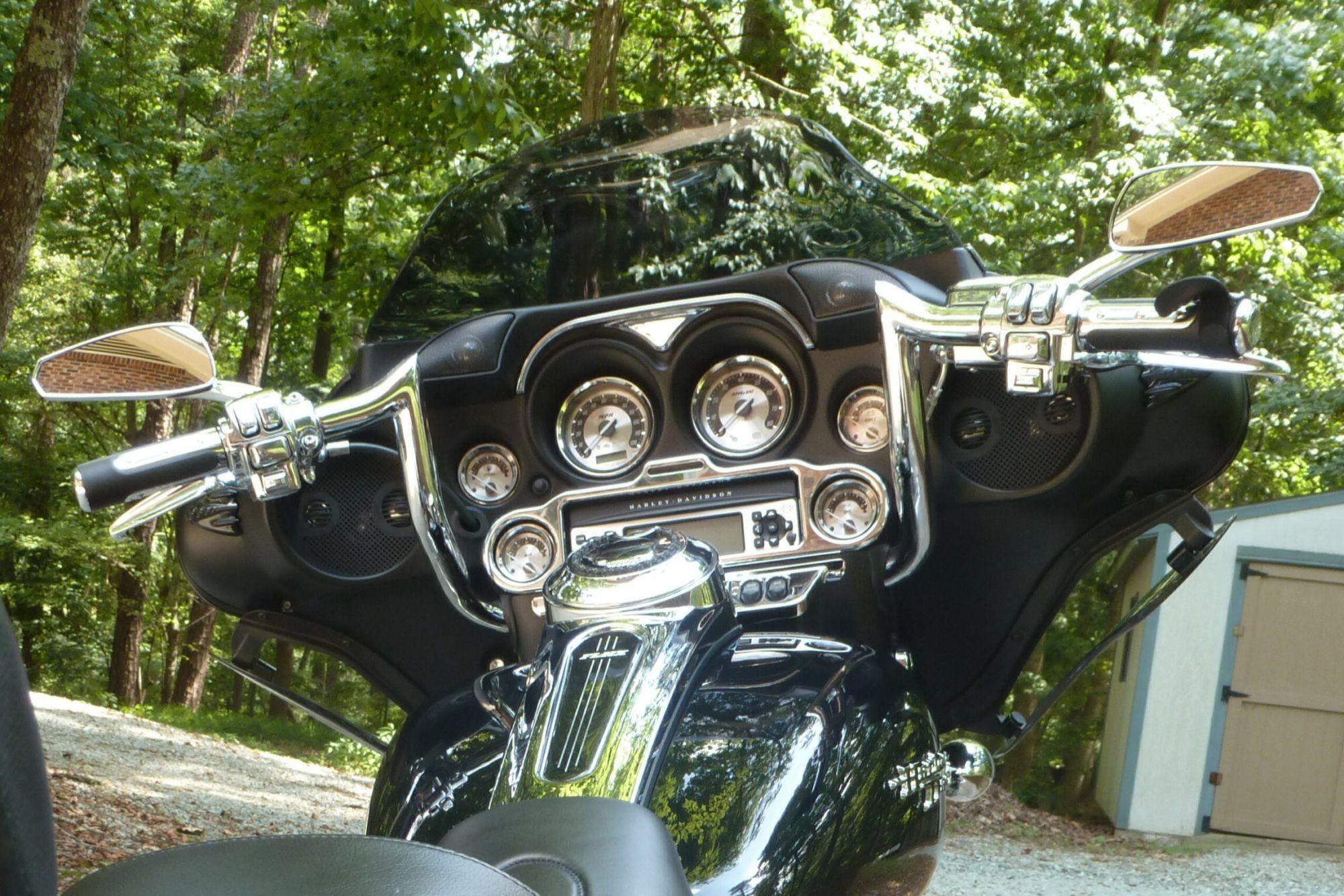 Flhx With 8 Paul Yaffe Monkey Bars Monkey Bars Street Glide Harley Davidson