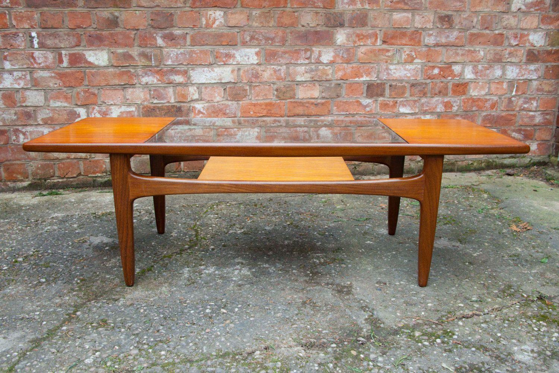 Retro Teak Long John Coffee Table By G- Plan Vintage 1960 ...