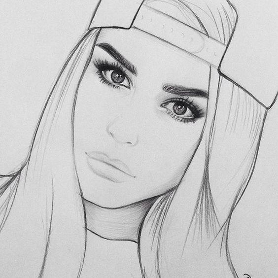 Рисунки карандашом для срисовки очень легкие «Красивые ...