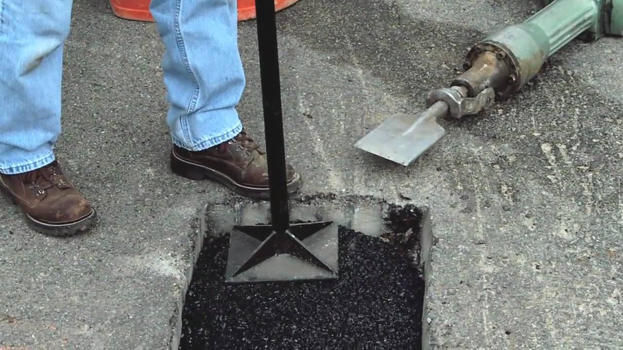 How To Make Permanent Pothole Repairs With Quikrete Anleitungen