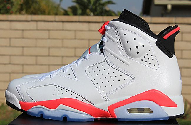 "2931b4c253eb Air Jordan 6 Retro ""White Infrared†(Available Early"