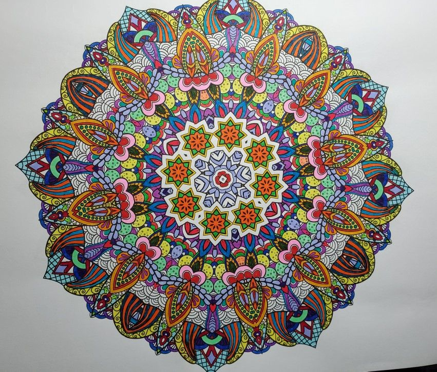 Insane Mandalas Vol 3 The World S Hardest Coloring Book By Marti Jo S In 2020