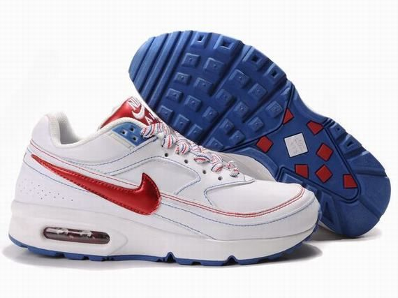 Cheap Purchase Nike Air Max Classic BW 91 Women Red Blue And White Sneaker  Online Shop Store