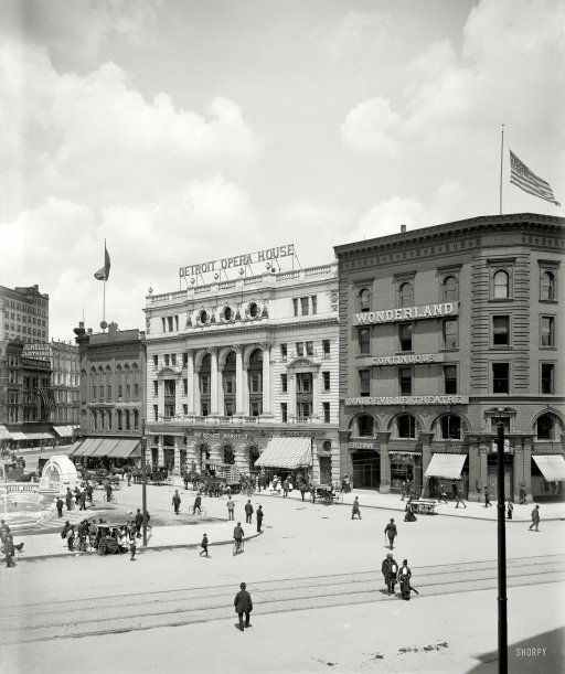Detroit Opera House 1900