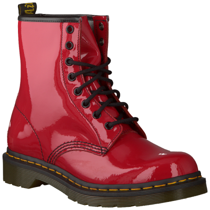 a799806ce5333 Rouge · Dr Martens Bottes · Chaussure Enfant Fille