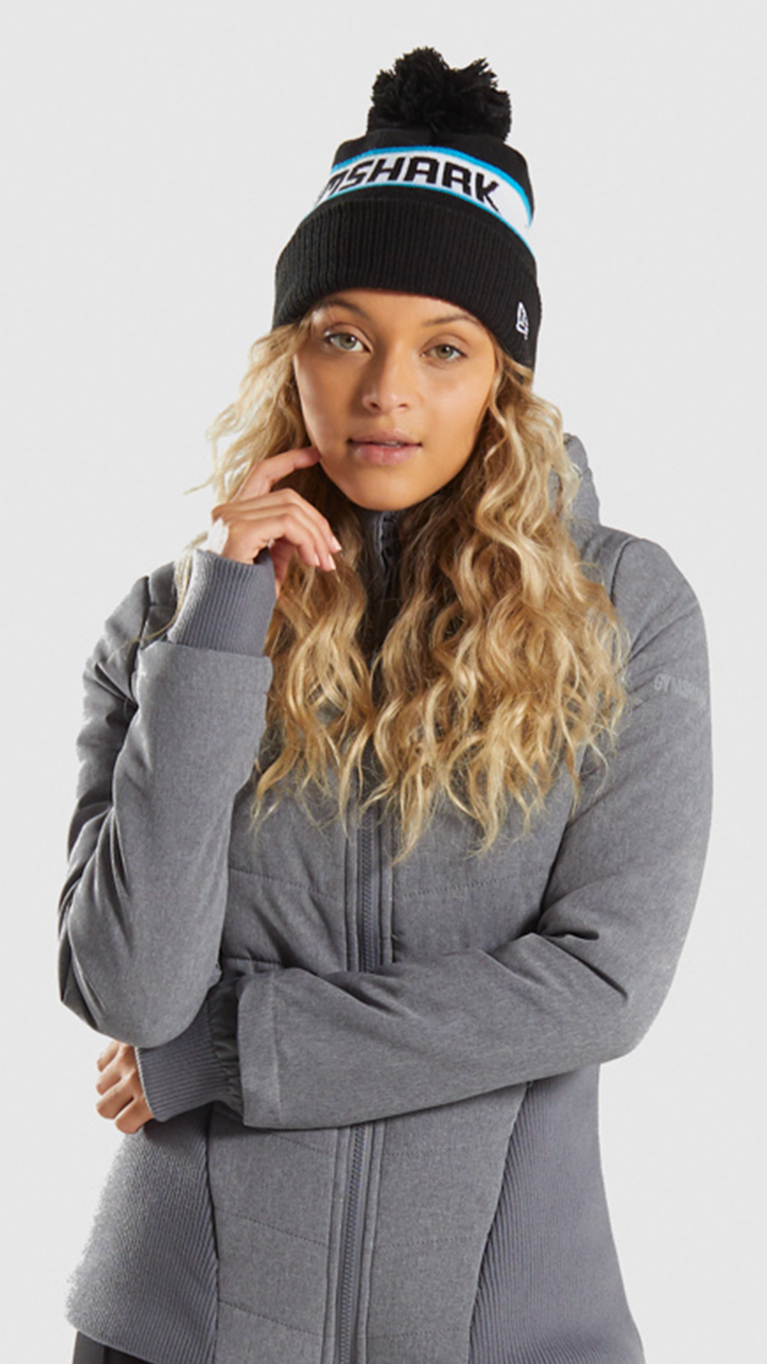 The Gymshark X New Era Bobble Hat. Keep warm this winter!  Gymshark  Gym   Sweat  Accessories  Train  Perform  Seamless  Exercise  Accessory  Hat   Bag ... 989d8ed69e6