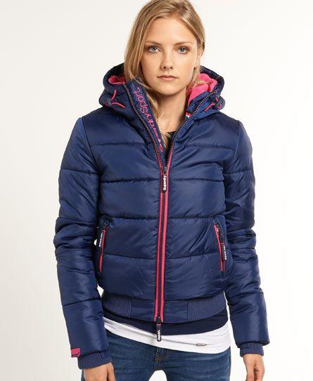 Superdry Polar Sports Tackjacka Jackets For Women Jackets Puffer Jacket Women