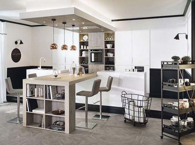 cuisine ouverte Cuisine Pinterest Cuisine, Kitchens and